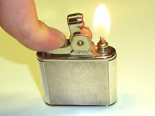 CAPITOL AUTOMATIC POCKET PETROL LIGHTER WITH 835 SILVER CASE - 1930/40 - U.S.A.