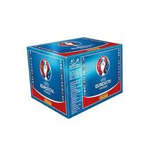 PANINI 2016 EURO CUP SEALED BOX 100 PACKS (500 STICKERS) + STICKER ALBUM