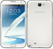 "Original Samsung Galaxy Note II GT-N7100 16GB White Unlocked Smartphone 5.5"" 8MP"