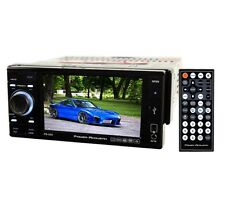 "POWER ACOUSTIK PD-535 5.3"" TOUCHSCREEN CD DVD MP3 SD USB PLAYER CAR STEREO RADIO"