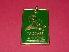 PORTE-CLES COPOCLEPHILIE 20eme TROPHEE LANCOME 1989 GOLF PARIS EAU DE TOILETTE