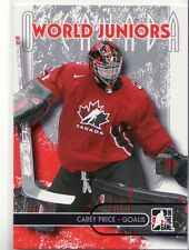 "2007-08 In The Game ""O Canada"" Hockey # 59 Carey Price"