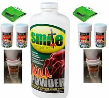 BED BUG KILLER TREATMENT BEDBUG SPRAY POWDER FUMER FOGGER BEDBUGS HOME TRAP
