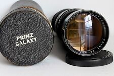 PRINZ GALAXY 300 MM 1:5.5 TELEPHOTO LENS M42 FIT + CASE GOOD CONDITION (USED)