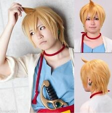 New Magi The Labyrinth of Magic Alibaba Short Anime Cosplay Party wig Have Hairn