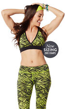 Authentic New  Zumba So Funky V-Bra  Berry or Zumba Green  NWT   MSRP $32