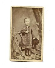 Antique Photo - Young Child - People's Gallery - Springfield, Ohio
