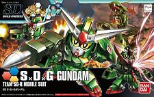 SD Gundam Build Fighters Try S × D × G Gundam 1/144 model kit Bandai 028