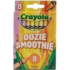Crayola Melted Crayon Art Crayons - Oozie Smoothie - Package of 8