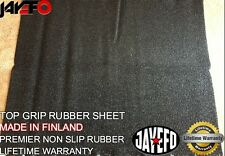 """PREMIUM TOP GRIP NON SLIP RUBBER SHEET 40"""" LENGTH 35"""" WIDE MADE IN FINLAND"""