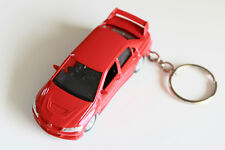 Mitsubishi Lancer Evolution VIII die cast metal car on Key Chain