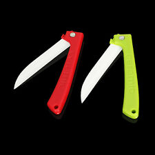 3 Inch Ceramic Paring Knife Fruit Folding Knife