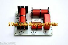 1pcs 2 Way Crossover Filter 2 Unit Audio Frequency Divider 4-8 ohm 150W 3500HZ