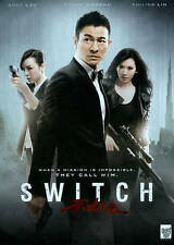 SWITCH ~ DVD RATED R CHINESE ANDY LAU martial arts ACTION International gangster