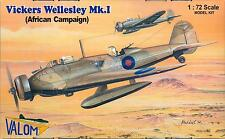 Valom Models 1/72 VICKERS WELLESLEY Mk.I African Campaign
