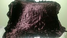 REDUCED! NWT 3 Pine Cone Hill Vogue Mahogany(Brown)Stnd. Pillowshams $100+ Value