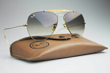 70' Vintage Ray-Ban * OUTDOORSMAN * 1/30 10K GO GOLD 58 MM B&L U.S.A + Case