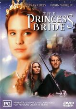 The PRINCESS BRIDE (Andre THE GIANT Robin WRIGHT Cary ELWES) Film DVD Region 4