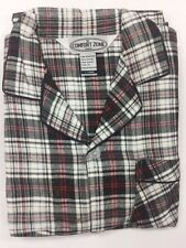 NEW Men's 2PC Comfort Zone Flannel Long sleeves/Long Leg Pajamas Set  Size S/2XL