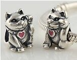 Promo SALE: Lucky Fortune Cat Charm for Pandora (s115)
