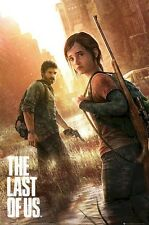 THE LAST OF US ~ COVER 24x36 VIDEO GAME POSTER Joel Ellie NEW/ROLLED!
