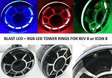 BLAST LED - REV 8 RGB LED Speaker Rings for Wet Sounds REV 8 Icon Rev 8 (RGB)