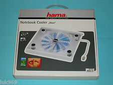 HAMA Maxi Notebook Cooler USB with 22 cm Fan – Brand New (Design - Transparent)