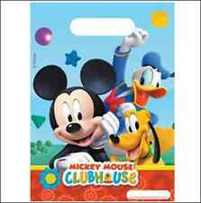 Boys Mickey Mouse Clubhouse Character Birthday Party Loot Lucky Bags x 6