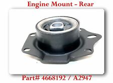 A2947 Engine Mount Rear Fits: CHRYSLER  DODGENEON PLYMOUTH NEON