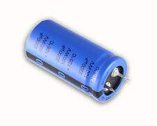 8x 2200uF 100V Radial Snap In Mount Electrolytic Aluminum Capacitor 105C 100VDC