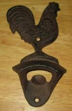 New Cast Iron ROOSTER Wall Bottle Opener Country Beer / Soda Opener CHICKEN