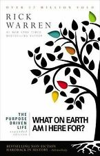 What on Earth Am I Here For? by Zondervan Publishing Staff and Rick Warren...