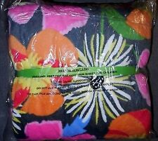 NEW Vera Bradley Jazzy Blooms Soft Plush Throw Blanket Multi-Color NWT HTF