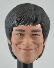 Hot Toys 1/6 Scale Bruce Lee In Suit Action Figure - Head Sculpt