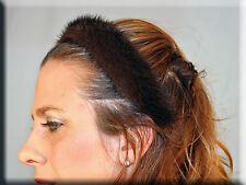 New Mahogany Mink Fur Headband Braid - Efurs4less