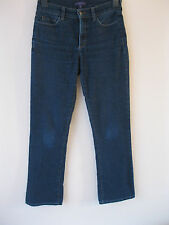 NYDJ Not Your Daughter's Straight Leg Mid Blue Stretch Lift Tuck Jeans. UK 8