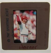 BOB HORNER ST LOUIS CARDINALS ATLANTA BRAVES Yakult Swallows ORIGINAL SLIDE 13