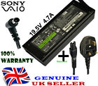 Genuine Sony Bravia LCD LED TV Television 90W Power Supply Adapter Cable + Cable
