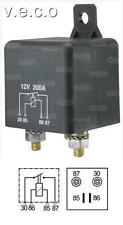 12 VOLT EXTRA HEAVY DUTY HIGH PERFORMANCE MAKE AND BREAK RELAY 200 AMPS 160923