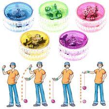 Kids Children Gift Colorful Flashing LED Glow Light Up YOYO Yo-Yo Ball Toy Doll