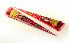 BUY 1 GET 1 FREE Organic Henna Mehndi Tattoo Pen Natural Red/Brown, FREEPOST tq