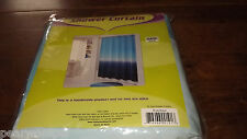 "Tie-Dye Blue ~ Aqua Shower Curtain Bed Bath & Beyond 72""x72"" New in Package"