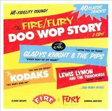 Various Artists, Fire & Fury Doo Wop Story, New