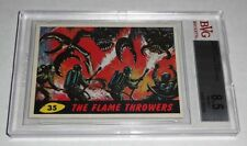 1962 Mars Attacks The Flame Throwers # 35 NM-MT+ BVG BGS 8.5 Like PSA