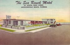 THE SEA RANCH, JACKSONVILLE BEACH, FL. Owners - Christine and N.W. Carter