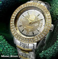 Marc Ecko Men's E17533G2 The King Two Tone Stainless Steel Watch  NEW IN BOX