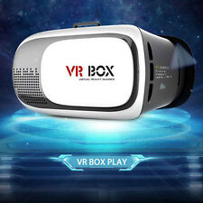 VR Box 2.0 3D Virtual Reality Google Glasses Cardboard With Video Game Remote