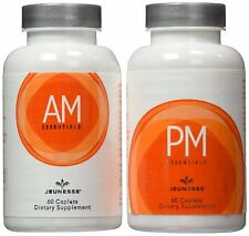 Jeunesse Immune System Improved & Suppoted with AM&PM 2 bottles.total 120 caplet