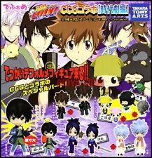 KATEKYO HITMAN REBORN Deformed Figure Series CCG Gashapon Full Set TAKARA TOMY