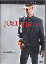 JUSTIFIED prima stagione - DVD